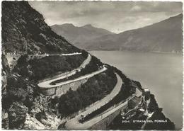 W43 Strada Del Ponale (Trento) - Lago Di Garda - Panorama / Viaggiata 1958 - Other Cities