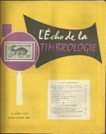 N° 1221 - L'écho De La Timbrologie / Aout 1955 - Français (àpd. 1941)