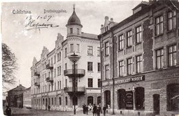ESKILSTUNA-DROTTNINGGATAN-VIAGGIATA 1907 - Svezia