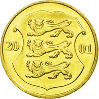 Monnaie, Estonia, Kroon, 2001, No Mint, SPL, Aluminum-Bronze, KM:35 - Estonie
