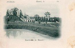 VIETNAM-ENVIRONS DE HANOI-TONKIN-1900-NON VIAGGIATA - Vietnam