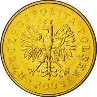 Monnaie, Pologne, 2 Grosze, 2003, Warsaw, SUP, Laiton, KM:277 - Polonia
