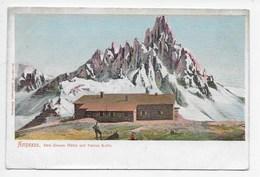 Ampezzo - Drei Zinnen Hutte Mit Patern Kofel - Retro Induviso - Italia