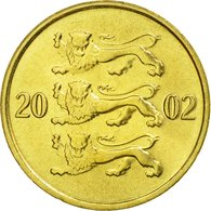 Monnaie, Estonia, 10 Senti, 2002, No Mint, SUP, Aluminum-Bronze, KM:22 - Estonie