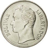 Monnaie, Venezuela, Bolivar, 1990, SPL, Nickel Clad Steel, KM:52a.2 - Venezuela