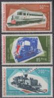 MADAGASCAR - Locomotives Poste Aérienne - Madagascar (1960-...)
