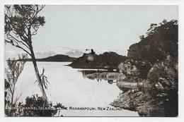 Among Channel Islands. Lake Manawapouri - Undivided Back - New Zealand