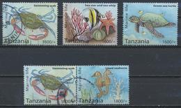 °°° TANZANIA - MARINE LIFE - 2014 °°° - Tanzania (1964-...)
