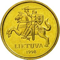 Monnaie, Lithuania, 10 Centu, 1998, SUP, Nickel-brass, KM:106 - Lituanie
