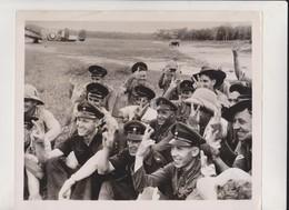 MALAYA FREE DUTCH AIR FORCE  FROM SINGAPRE FOR AIR REINFORCEMENT DUTCH BRITISH AUS FOTO DE PRESSE  Brian L Davis Archive - Oorlog, Militair