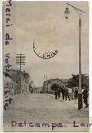 - PERU - PEROU - Coquimbo - Calle Melgarejo - Animation, Plaza A Prat, TBE, Non écrite, Cachet, 1908, Scans. - Peru