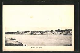 AK Mosul, Panorama Mit Tigris - Irak