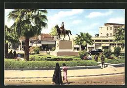 AK Baghdad, King Faisal The I. Statue - Irak