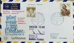 O) 1968 GERMANY, BERLIN GATE, ERSTFLUG LH 366 - BOEING -HAMBURG-LISSABON, XF - [5] Berlin
