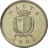 Monnaie, Malte, 2 Cents, 2002, British Royal Mint, TTB, Copper-nickel, KM:94 - Malte
