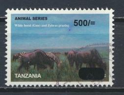 °°° TANZANIA - ANIMAL GNU AND ZEBRAS - 2009 °°° - Tanzania (1964-...)