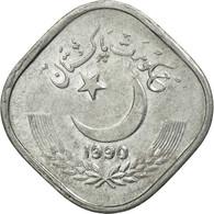 Monnaie, Pakistan, 5 Paisa, 1990, TTB, Aluminium, KM:52 - Pakistan