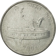 Monnaie, INDIA-REPUBLIC, 50 Paise, 2001, TB+, Stainless Steel, KM:69 - India