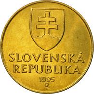 Monnaie, Slovaquie, 10 Koruna, 1995, SUP, Aluminum-Bronze, KM:11 - Slovaquie