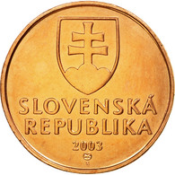 Monnaie, Slovaquie, 50 Halierov, 2003, SUP, Copper Plated Steel, KM:35 - Slovaquie