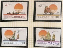 Macau Portugal China Chine 1984 - Embarcações Tradicionais - Stamp Exhibition Philakorea 84 Fishing Boats - MNH/Neuf - Neufs