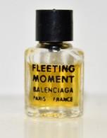 FLEETING MOMENT BALENCIAGA 1 ML - Vintage Miniatures (until 1960)