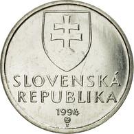 Monnaie, Slovaquie, 5 Koruna, 1994, SUP, Nickel Plated Steel, KM:14 - Slovaquie