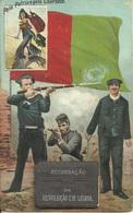 PORTUGAL - Recordação Da Revolução Em Lisboa (postal Mecânico/completo Com As Imagens) Outubro 1910 Republica - Lisboa