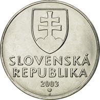 Monnaie, Slovaquie, 2 Koruna, 2003, SUP, Nickel Plated Steel, KM:13 - Slovaquie