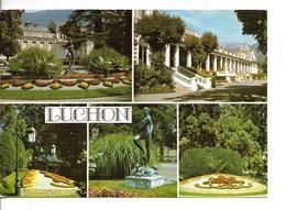 31 LUCHON Reine Des Pyrénées LE CASINO Et Son Parc / CPM Larrey N° 9341 Voyagée 1986/ 5 Vues / - Luchon