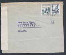 Military Censorship Of Malaga.Letter Con Stamp Pro-Malaga In 1939 2ª World War.War Spain.Isabel La Católica.2sc.Rare - 1931-Aujourd'hui: II. République - ....Juan Carlos I