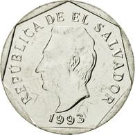 Monnaie, El Salvador, 5 Centavos, 1993, British Royal Mint, SUP, Nickel Clad - El Salvador