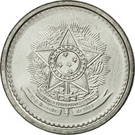 Monnaie, Brésil, 10 Centavos, 1987, TTB, Stainless Steel, KM:602 - Brazil