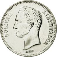 Monnaie, Venezuela, 2 Bolivares, 1990, SPL, Nickel Clad Steel, KM:43a.1 - Venezuela