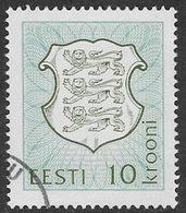 Estonia SG206 1993 Definitive 10k Good/fine Used [38/31473/6D] - Estonia