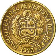 Monnaie, Pérou, Sol, 1975, TTB, Laiton, KM:266.1 - Pérou