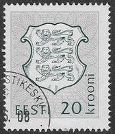 Estonia SG207 1993 Definitive 20k Good/fine Used [38/31474/6D] - Estonia