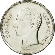 Monnaie, Venezuela, 50 Centimos, 1990, SPL, Nickel Clad Steel, KM:41a - Venezuela