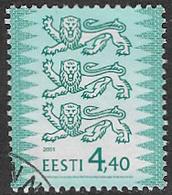 Estonia SG354a 2001 Definitive 4k.40 Good/fine Used [38/31476/6D] - Estonia