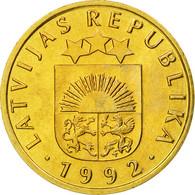 Monnaie, Latvia, 5 Santimi, 1992, SPL, Nickel-brass, KM:16 - Lettonie