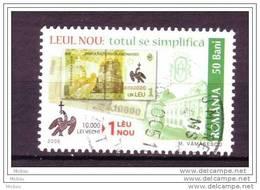 Roumanie, Romania, Monnaie, Billet, Money, Banknote, Oiseau, Rapace, Bird - Munten