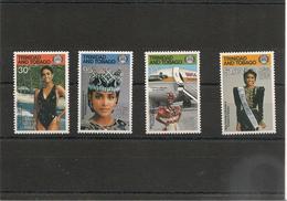 TRINITÉ Et TOBAGO Miss Monde 1986 Année 1987 N°Y/T : 568/571** Côte : 16,00 € - Trinité & Tobago (1962-...)