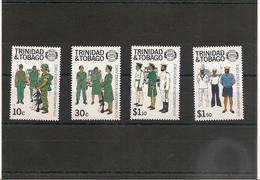 TRINITÉ Et TOBAGO Forces De Défense Année 1988 N°Y/T : 577/580** Côte : 13,50 € - Trinité & Tobago (1962-...)
