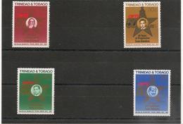 TRINITÉ Et TOBAGO   Syndicat Des Travailleurs  Année 1988 N°Y/T : 594/597** - Trinité & Tobago (1962-...)