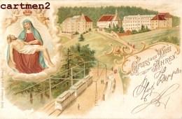 GRUSS AUS DREI AHREN TROIS-EPIS MULTIVUES RELIGION 68 ALSACE ELSASS - Trois-Epis