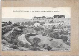 BONNIEUX - 84 - Vue Générale Vu De La Route De Marseille  - DELC4 - - Bonnieux