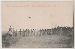 CPA 79 NIORT Semaine De L' Aviation Mars 1910 - Monoplan Blériot Piloté Par Noël En Plein Vol - Niort