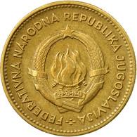Monnaie, Yougoslavie, 10 Dinara, 1955, TTB, Aluminum-Bronze, KM:33 - Yougoslavie
