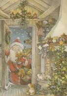 Santa Claus Is Bringing Christmas Presents - Toys - Lisi Martin - Christmas