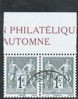 FRANCE 2016 - 140E ANNIVERSAIRE TYPE SAGE YT 5094 + 5095 OBLITERE                           TDA277 - Used Stamps